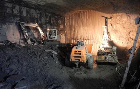 Grube Altlay 2015 Abbau Kammer B66