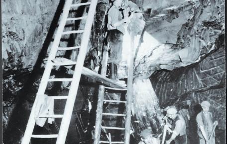 Untertageabbau ca. 1925