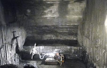 Abbaukammer B03 April 2011