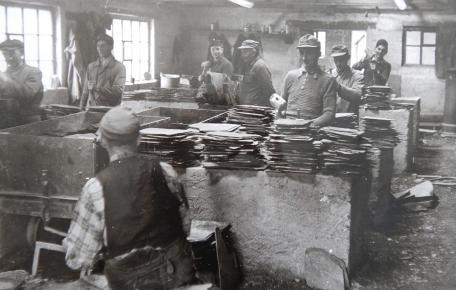 Spaltanlage Grube Frühberg ca. 1950